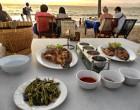 14 Tage Bali Urlaub - Fisch am Jimbaran Beach