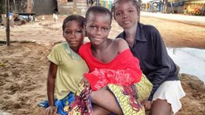 Girls in Bassam