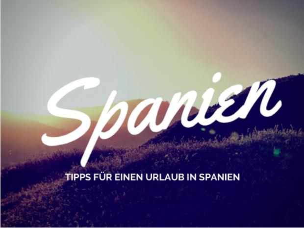 Tipps in Spanien