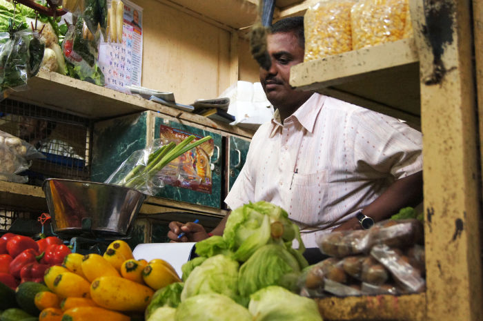 Chor Market Mumbai Verkäufer