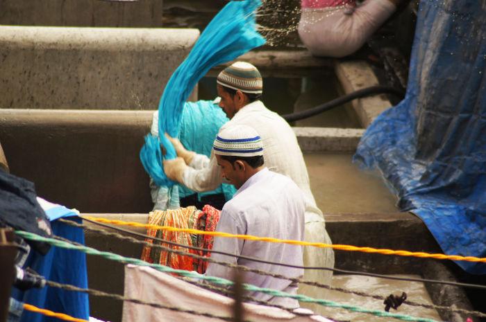 Dhobi Ghat Waschen Mumbai