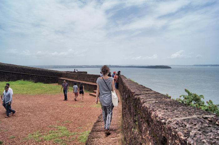 Tage in Goa Palolem Anne Fort Aguada