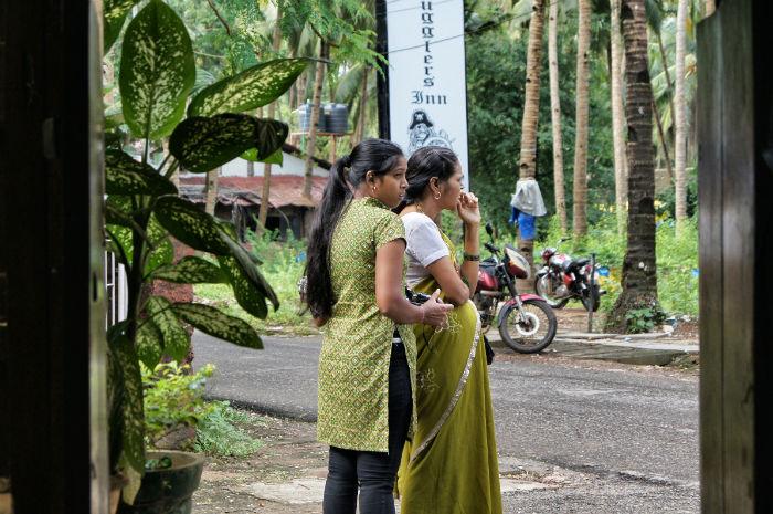 Tage in Goa Palolem Frauen