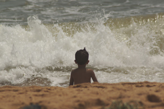 Tage in Goa Palolem Kind