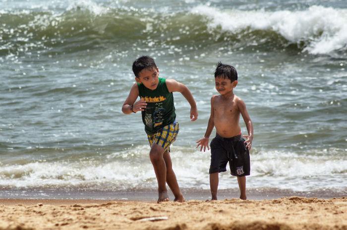 Tage in Goa Palolem Kinder