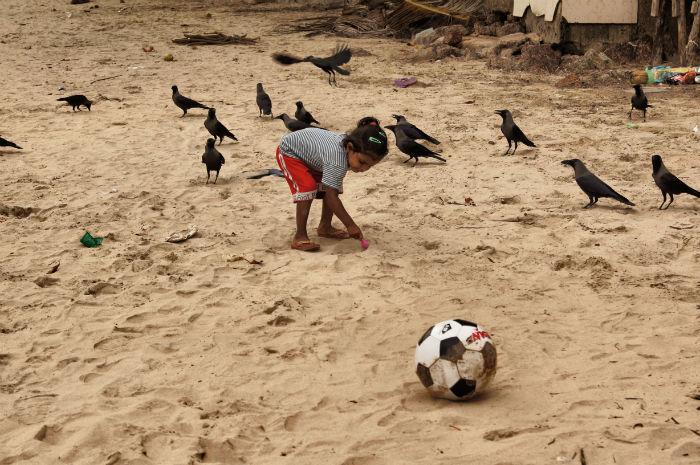 Tage in Goa Palolem Mädchen