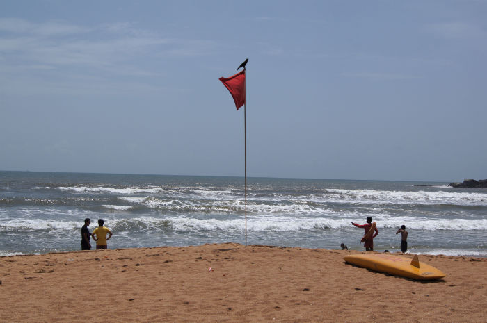 Tage in Goa Palolem Rettungsschwimmer