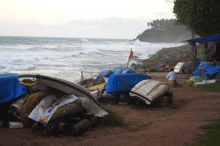 Urlaub in Indien Boats