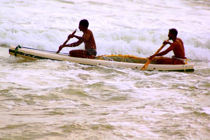 Urlaub in Indien Kanu