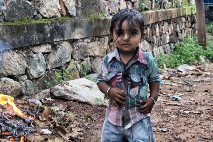 Urlaub in Indien Kind Varkala