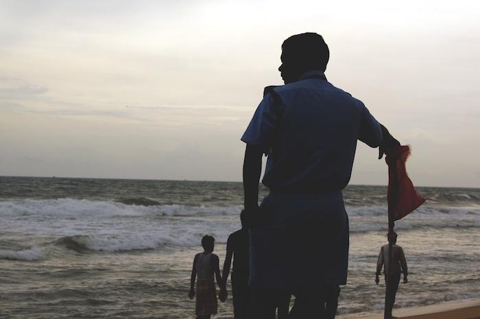 Urlaub in Indien Police