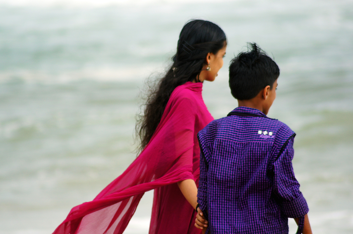 Urlaub in Indien Varkala Family