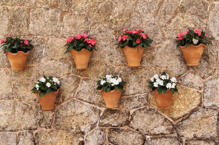 Urlaubsorte-auf-Mallorca-Valldemossa-Blumentöpfe
