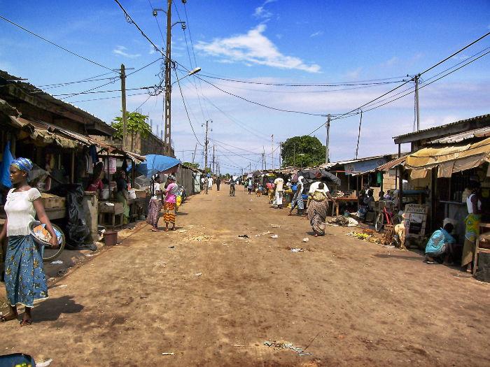 Elfenbeinküste Anne Grand Bassam