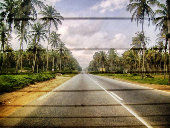 Elfenbeinküste Anne Weg nach Abidjan
