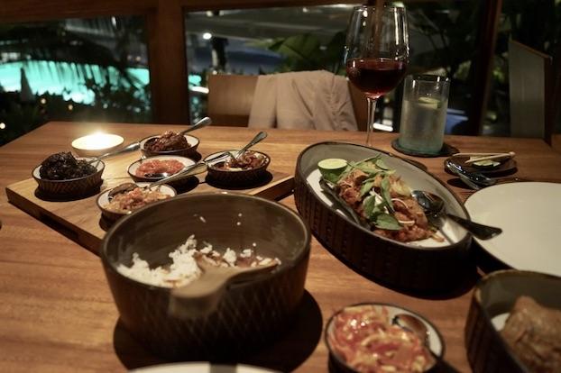 Katamama Hotel Bali Dinner im Kaum Restaurant
