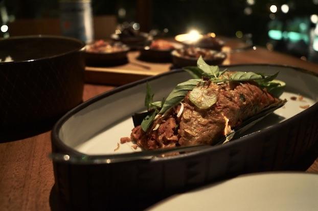 Katamama Hotel Bali Kaum Restaurant Pepes Ikan