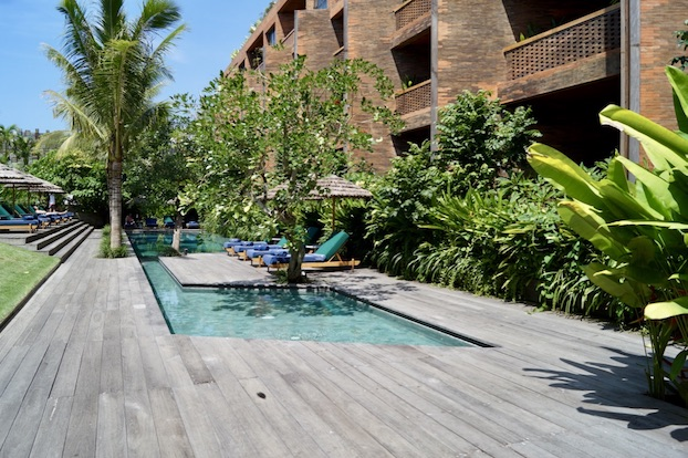 Katamama Hotel Bali Pool Bereich