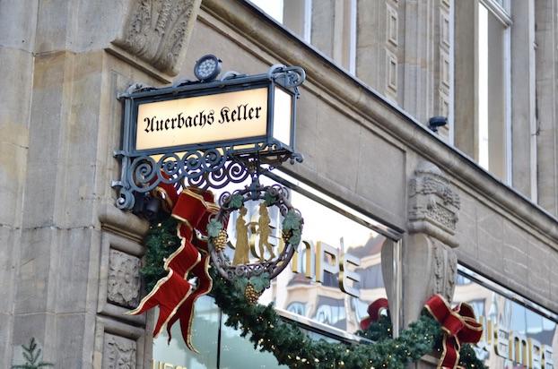 Wochenendtrip Leipzig Auerbachs Keller