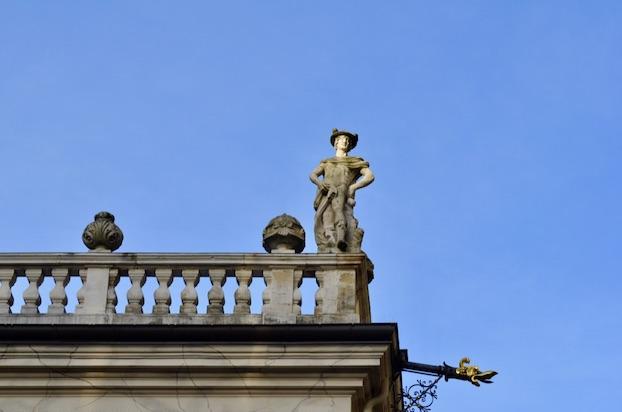 Wochenendtrip Leipzig Statue