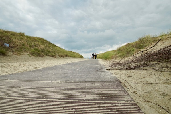 Insel-Norderney-Holzpfad