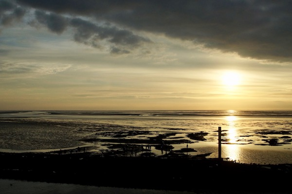 Insel-Norderney-Sonnenuntergang