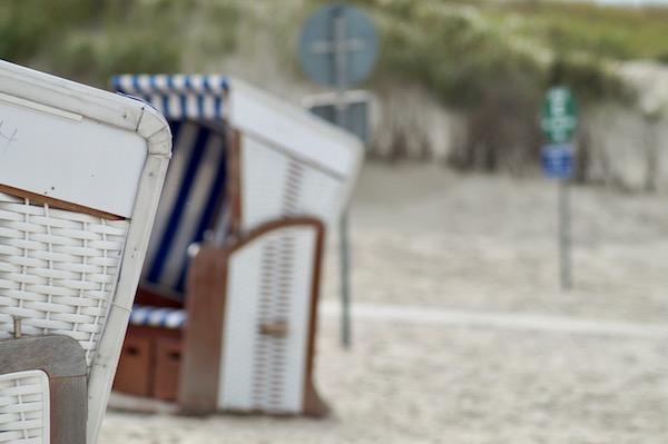 Insel-Norderney-Strandkorb