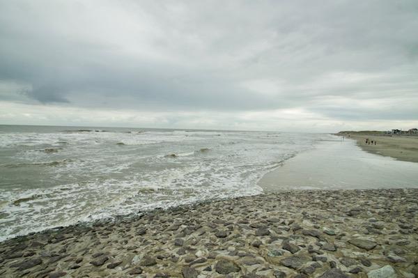 Insel-Norderney-raue-See