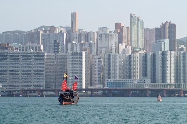 Tag-in-Hongkong-Dschunke